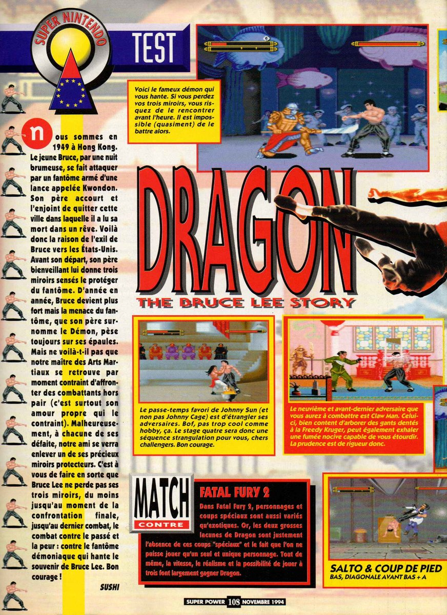 Dragon - The Bruce Lee Story (Europe) 1