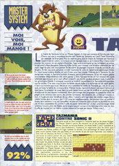 Taz-Mania (Master System)