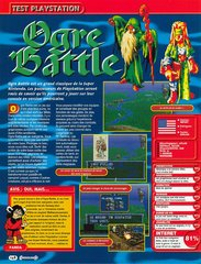 Ogre Battle : The March of the Black Queen (Playstation)