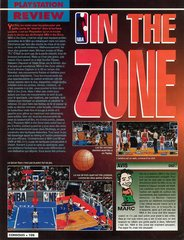 NBA In The Zone (Playstation)