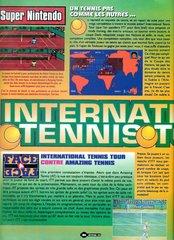 International Tennis Tour (Super Nintendo)