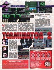 Terminator 2 : Judgment Day (Master System)