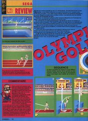 Olympic Gold : Barcelona '92 (Master System)