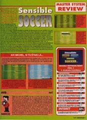 Sensible Soccer : European Champions (Master System)