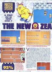 The New Zealand Story (Master System)