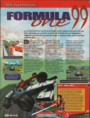 Formula One 99 (Playstation)