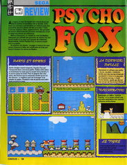 Psycho Fox (Master System)
