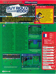 Guy Roux Manager 2000 (Playstation)