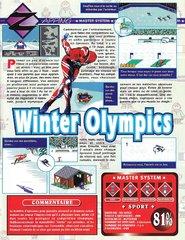 Winter Olympics - Lillehammer '94 (Master System)