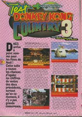 Donkey Kong Country 3 : Dixie Kong's Double Trouble! (Super Nintendo)