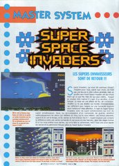 Super Space Invaders (Master System)